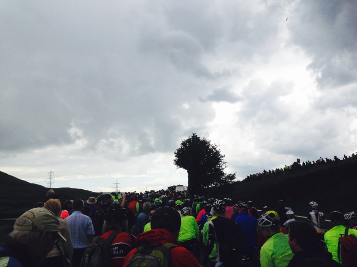 Tour De France Traffic Jam