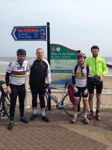 We did it, 187 miles in 3 days.